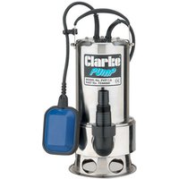 Clarke Clarke PVP11A Stainless Steel Dirty Water Submersible Pump