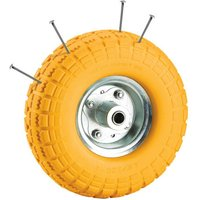 Clarke Clarke PF265 Yellow Tyred Wheel