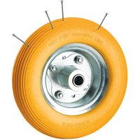 Clarke Clarke PF395 Puncture Proof Yellow Tyred Wheel 395mm