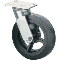 Clarke ML525S 125mm Heavy Duty Swivel Castor - Rubber