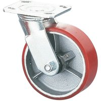 Clarke ML536S 125mm Heavy Duty Swivel Castor - PU