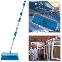 Clarke Clarke CHT631 Telescopic Wash Brush and Squeegee