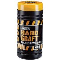 Draper Draper Hard Graft Wipes (Tub of 100)