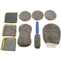 Machine Mart Xtra Laser 5556 9 Piece Microfibre Cleaning Kit