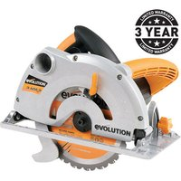 Evolution Evolution RAGE B   Multi Purpose 185mm Circular Saw  110V