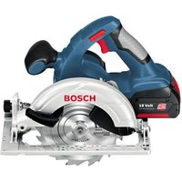 Machine Mart Xtra Bosch GKS 18 V-Li 18V (4.0Ah) Lithium Ion Cordless Circular Saw Kit