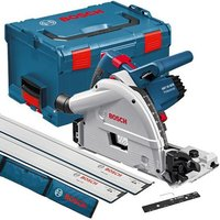Bosch Bosch GKT 55 GCE 165mm Professional Plunge Saw (110V) with L-Boxx and 2 Guide Rails