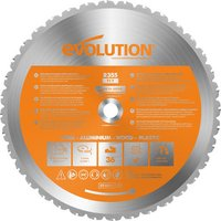 Evolution Evolution RAGE 2 355mm Replacement Multi Purpose TCT Blade