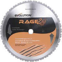 Evolution Evolution RAGE2 355mm Replacement Multi Purpose TCT Blade