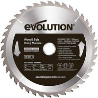 Evolution Evolution W255TCT 40 255mm Wood Cutting Blade