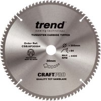 Trend Trend CSB/CC30548 Crosscut Craft Saw Blade 305x30mm 48T