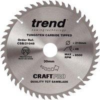 Trend Trend CSB 21048 Craft Saw Blade 210x30mm 48T