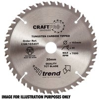 Trend Trend CSB/21560 Craft Saw Blade 215x30mm 60T
