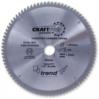 Trend Trend CSBAP21564 - 64T CraftPro Saw Blade 215mm