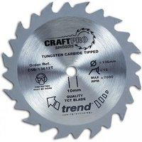 Trend CSB16524TA   24T  CraftPro  Saw Blade 165mm