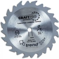 Trend Trend CSB19024 - 24T CraftPro Saw Blade 190mm