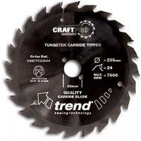 Trend Trend CSBTC19040   40T  CraftPro  Saw Blade 190mm
