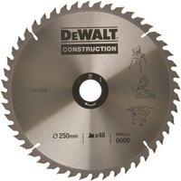 DeWalt DeWalt DT1957-QZ Circular Saw Blade 250x30mm 48T