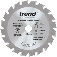 Trend Trend 85mm 20 Tooth Craft Circular Saw Blade