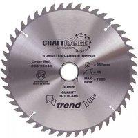 Trend Trend CSB23540   40T  CraftPro  Saw Blade 235mm