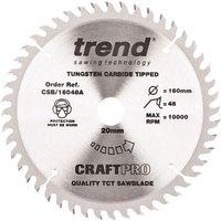 Trend Trend CSB 16048A 160mm Circular Saw Blade