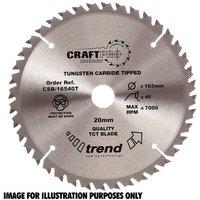 Trend Trend CSB 16552T Craft Saw Blade 165x20mm 52T