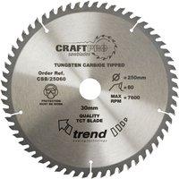 Trend Trend CSB 18458 Craft Saw Blade 184mm X 58 Teeth X 30mm