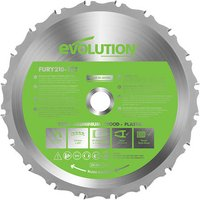 Evolution Evolution 210mm Replacement Multipurpose TCT Blade
