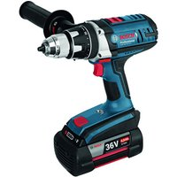 Bosch Bosch GSR 36 VE-2-LI Professional Cordless Drill/Driver, 2x4.0AH Batteries and L-BOXX
