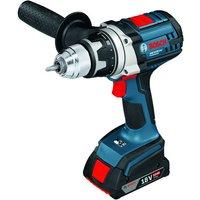 Machine Mart Xtra Bosch GSR 18 VE-2-LI Cordless Drill/Driver With 2 x 4.0 Ah Li-Ion Batteries & L-BOXX