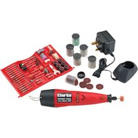 Clarke Clarke CCRT266 Cordless Rotary Tool with 262pc Accessory Kit