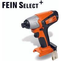 Fein Fein ASCD12 100W4 12V 1 4  Hex Impact Wrench Select  Bare Unit