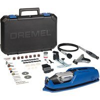 Dremel Dremel 4000 Rotary Tool with 4 Attachments and 65 Accessories  230V