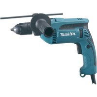 Makita Makita HP1641K 13mm Percussion Drill with Keyless Chuck (230V)