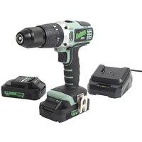Kielder Kielder KWT 001 17 18V Brushless Combi Drill with 2x2 0Ah Batteries