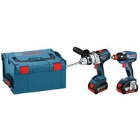Bosch Bosch GSB & GDX 18V Twinpack with 2 x 5.0Ah Batteries