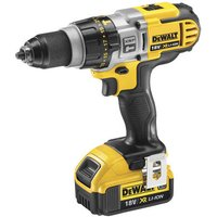 DeWalt XR FlexVolt DeWalt DCD985M2 GB 18V XRP 3 Speed Li Ion Hammer Drill Driver 2x4Ah Batteries