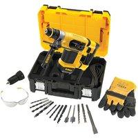 110 Volt DeWalt D25414KT 32mm Heavy Duty SDS  Combination Hammer Drill  110V