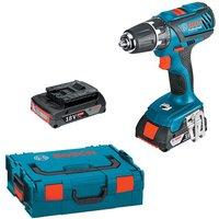 Bosch Bosch GSR 18-2-LI PLUS 18V 2.0Ah Cordless Drill Driver Kit