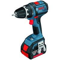 Machine Mart Xtra Bosch GSR 18 V LI Professional Cordless Drill Driver  Batteries   L BOXX