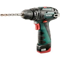 Metabo Metabo PowerMaxx SB Cordless Impact Drill with 2x2 0Ah Batteries