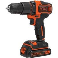 Black   Decker Black   Decker BCD700S1K GB 18V 2 Gear Hammer Drill