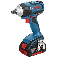 Bosch Bosch GDS 18 V EC 250 Professional Brushless 18V Impact Wrench  2 x 5 0Ah Batteries  GAL 1880 CV Charger in a L BOXX