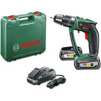 Bosch Bosch PSB 18LI 2 Ergonomic Cordless Combi Drill with 2x 2 5Ah Batteries
