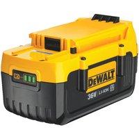 Machine Mart Xtra DeWalt DCB360XJ 36V 4.0Ah Li-Ion Heavy Duty Slide Pack Battery