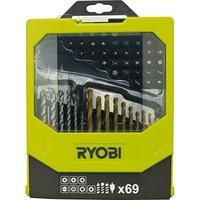 Ryobi Ryobi RAK69MIX 69 Piece Mixed Drill and Driving Application Kit