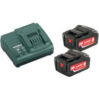 Machine Mart Xtra Metabo 685051000 Starter Kit - ASC30 Charger With 2 x18V 5.2Ah Batteries