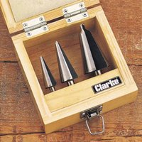 Clarke Clarke CHT382 3pc. Tapered Drill Set