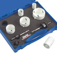 Clarke Clarke CHT575 - 6pce Electricians Hole Saw Set