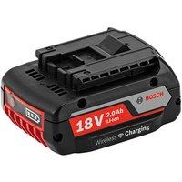 Bosch Bosch GBA 18V 2 0Ah Wireless Charging Li Ion Battery